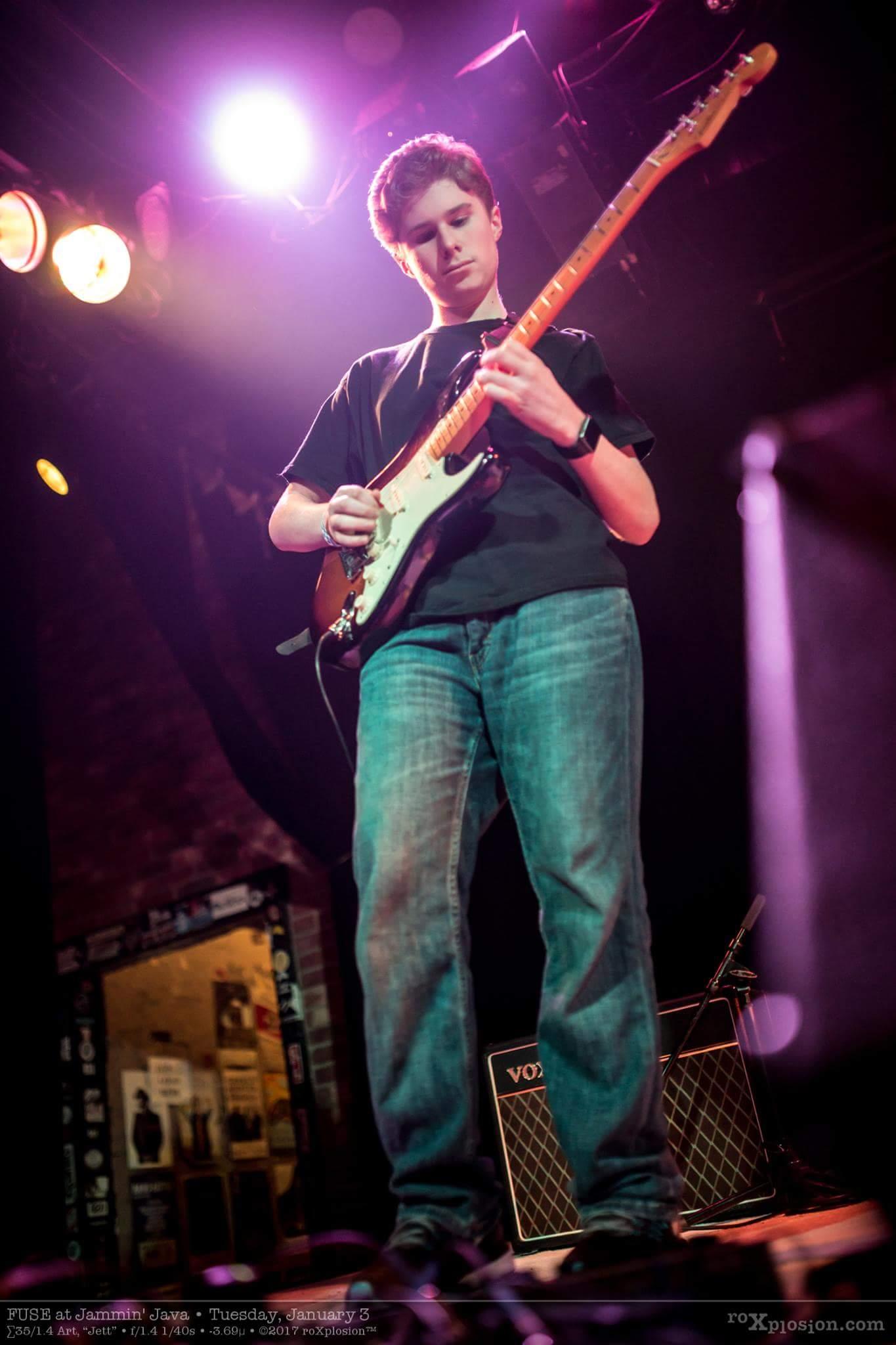 FUSE, Teen Rock Band, Maryland, Award Winning Band, Devin Streight